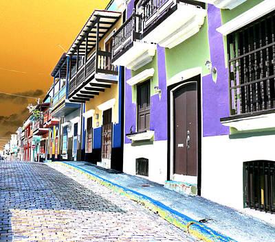 Old San Juan 9 Poster