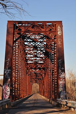 Old Sante Fe Bridge Poster