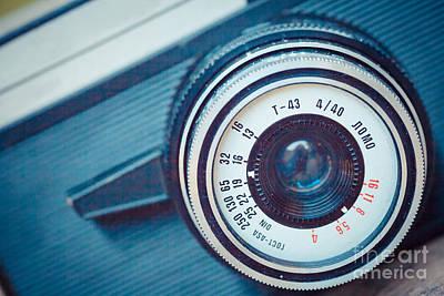 Old Vintage Camera Poster