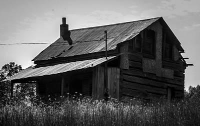 Old West Va Cabin Poster