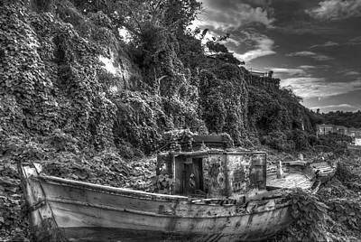 Oldboat Poster by Stavros Argyropoulos