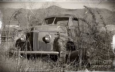 Poster featuring the photograph Ole Studebaker II by Laurinda Bowling