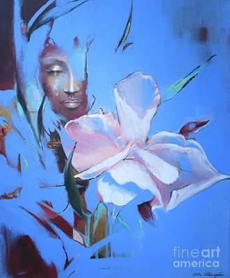 Oleandera Poster by Lin Petershagen