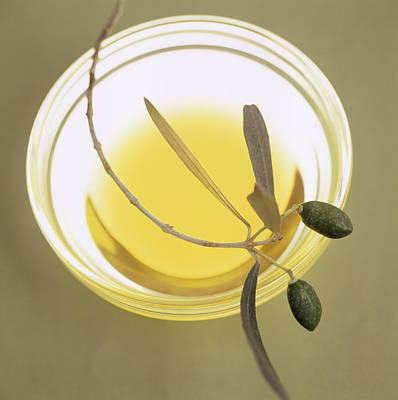Olive Oil Poster by Cristina Pedrazzini