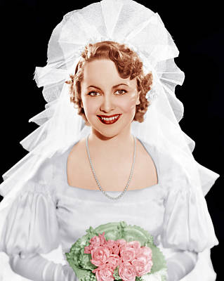 Olivia De Havilland, Ca. 1935 Poster by Everett