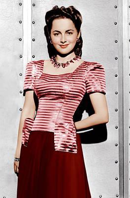 Olivia De Havilland, Ca. 1942 Poster by Everett