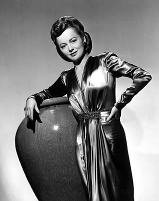 Olivia De Havilland, Warner Brothers Poster
