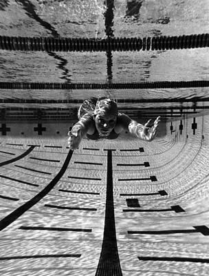 Olympian Shirley Babashoff, 1976 Poster
