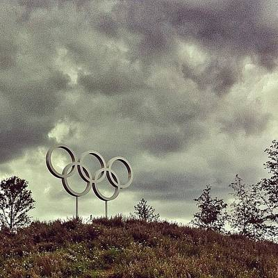 #olympicpark #olympics #london2012 Poster by Samuel Gunnell