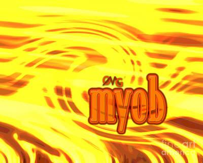 Omg Myob Poster