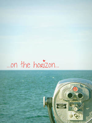 Poster featuring the photograph On The Horizon by Robin Dickinson