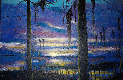 On The Shore Of Waccamaw Poster