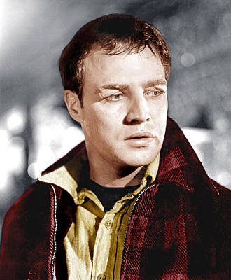 On The Waterfront, Marlon Brando, 1954 Poster by Everett