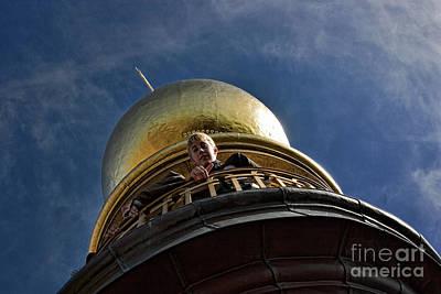On Top Of Vor Frelsers Kirke Poster by Joerg Lingnau