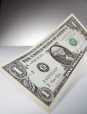 One Dollar Bill Poster by Tek Image