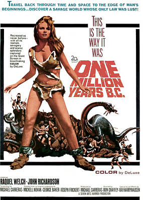 One Million Years, B.c., Raquel Welch Poster