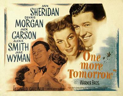 One More Tomorrow, Jane Wyman, Jack Poster by Everett