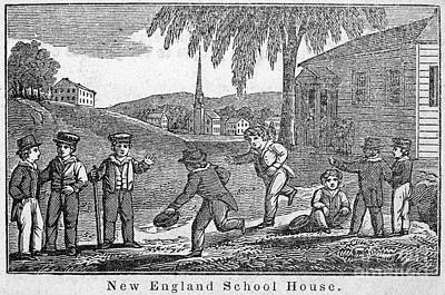 One-room Schoolhouse, 1842 Poster by Granger