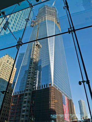 One Wtc Rising Poster