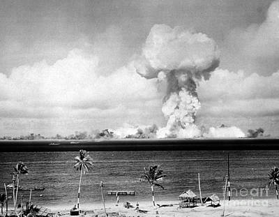 Operation Crossroads, Able Detonation Poster by Science Source