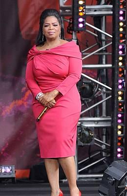 Oprah Winfrey At Talk Show Appearance Poster by Everett