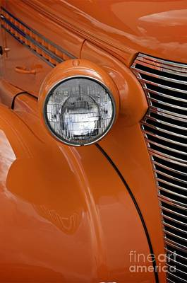 Poster featuring the photograph Orange Chevrolet by Sherry Davis