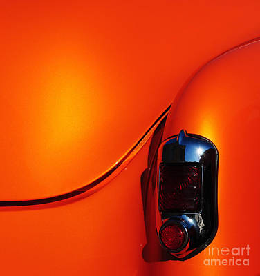 Orange Crush Poster