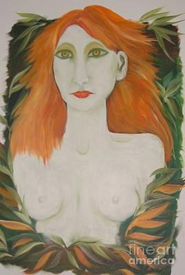 Orange Hair Poster by Rachel Carmichael