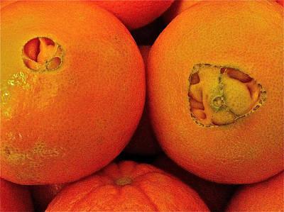 Oranges Poster by Bill Owen