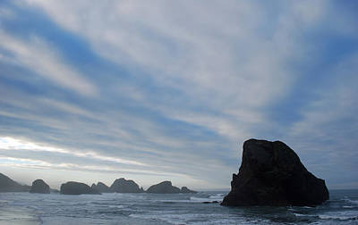 Oregon Coast At Morning Poster by Twenty Two North Photography