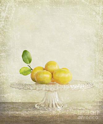 Organic Mandarins Poster by Linde Townsend
