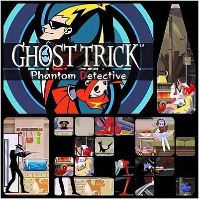 Originally A #nintendo #ds #game, Ghost Poster