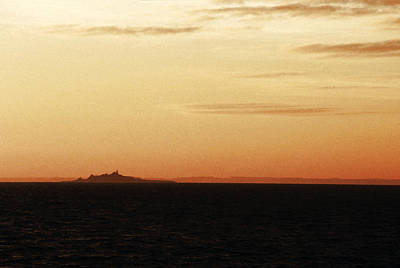 Ornoe At Sunset Poster