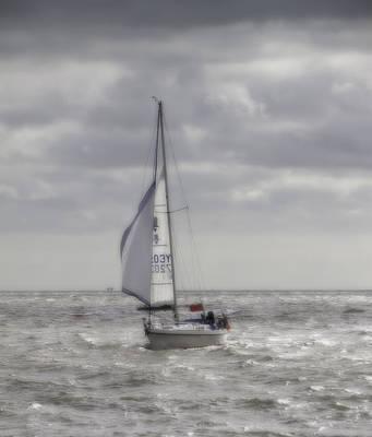 Orton Yacht Poster by Nigel Jones