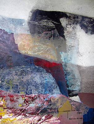 Os1959ar018ba Abstract Landscape Of Potosi Bolivia 16.6 X 22 Poster