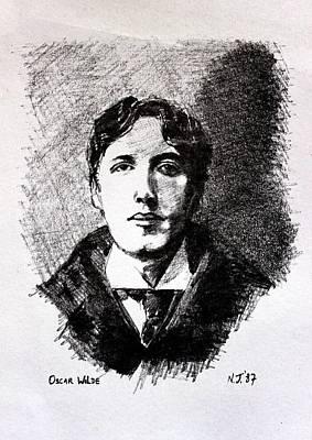 Oscar Wilde Poster by John  Nolan
