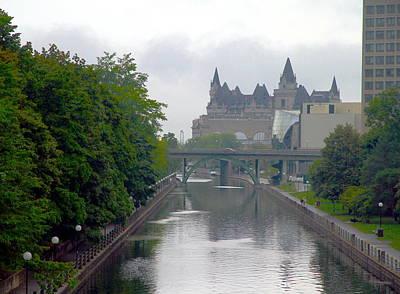Ottawa Rideau Canal Poster
