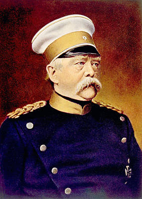 Otto Von Bismarck 1815-1898, Chancellor Poster