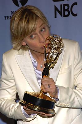 Outstanding Talk Show Host Winner Ellen Poster by Everett