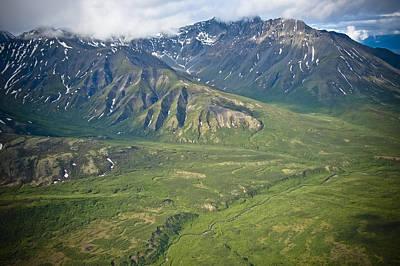 Over Alaska Poster by Jen Morrison