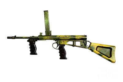 Owen Gun, An Australian 9mm Submachine Poster