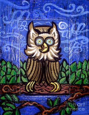 Owl Magic Poster