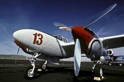 P-38 Lightning Lucky 13 Poster