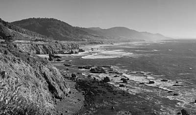Pacific Coast Highway Coast Poster by Twenty Two North Photography