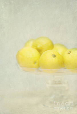 Painterly Lemons Stilllife Poster