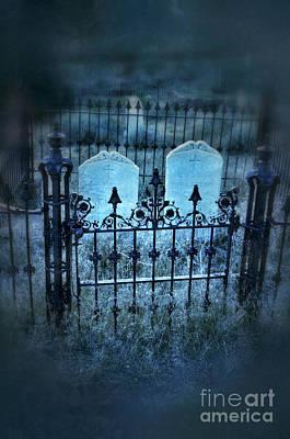 Pair Of Graves Poster by Jill Battaglia