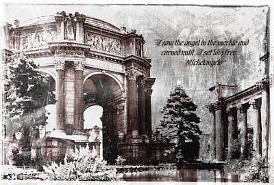 Palace Of Fine Arts Rotunda Poster
