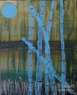 Pale Blue Moon Poster
