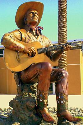 Palm Springs Gene Autry 2 Poster by Randall Weidner