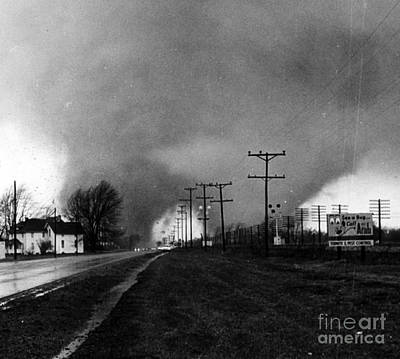 Palm Sunday, Tornado Outbreak II, 1965 Poster by Science Source